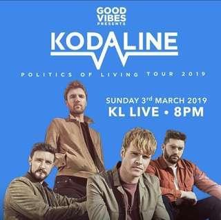 Kodaline GV March 2019