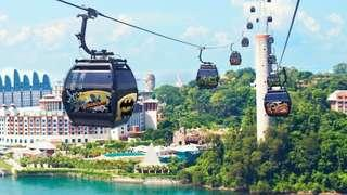 Cable Car Singapore - Instant E Ticket (Sentosa & Mount Faber Line) 2 Way Trip 新加坡珠宝缆车 圣淘沙花柏山线 电子换票 快速出票 往返 双程票