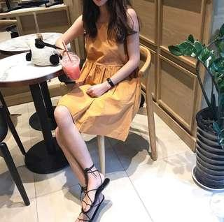 🚚 小清新可愛無袖洋裝 #十二月女裝半價