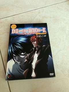 Death Note Anime And Movie Dvds