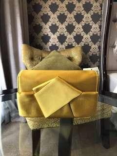H&M Party Yellow Sling Bags