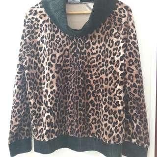 🚚 豹紋上衣