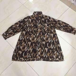 Brown Army Shirt