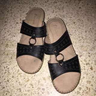 Sandal wedges Fladeo size 40