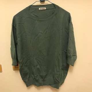 🚚 五分袖柔軟針織上衣#十二月女裝半價