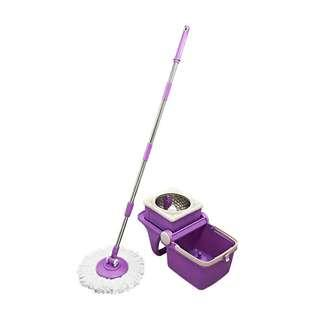 Cosway Spin Dry Mop-Purple