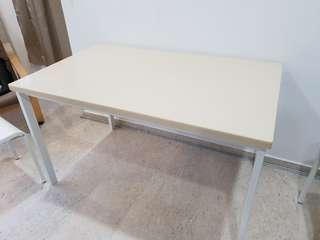 IKEA Table with Solid Surface Top