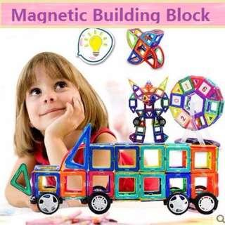 🚚 Magnetic Toy/Magnetic building blocks/Magnet construction toys/ Construction Piece Puzzle Toys /Educational Toys