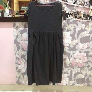 Dark Grey Long Dresses