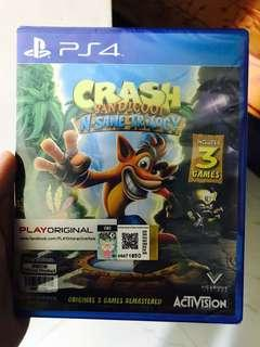 PS4 Crash Bandicoot: N-sane Trilogy