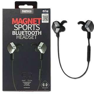 Remax S2 Magnet Selfie Bluetooth V4.1 Stereo Headphone Car Wireless Outdoor Sport Headset