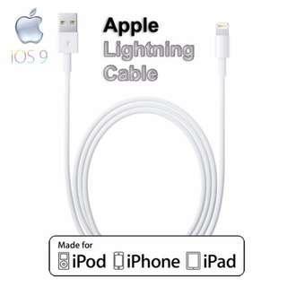 Apple Original iPhone iPad Lightning USB Cable / Charging & Data Sync