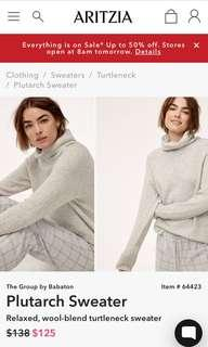 Aritzia Plutarch Sweater