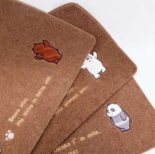 We Bare Bears Floor Mat