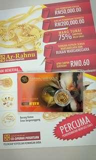 Gold Coin Harimau Mint Gold