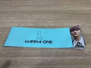 [Ready Stock] Wanna One Jisung POD Romance Album Sleeve