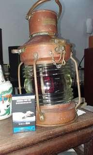 厚銅制大船燈(重料)