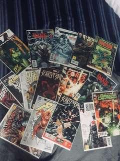 Marvel and DC Comics collection