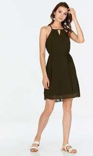The Closet Lover TCL Eva Kinfolk Dress in Olive XS