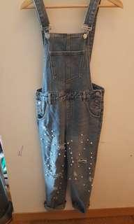 Overall denim jeans size 36