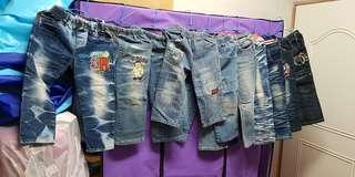 (小朋友)牛仔褲10件