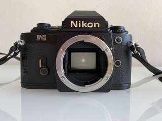 Nikon FG vintage camera