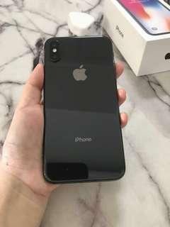 IPhone X Space Grey 64gb (As good as Brand new )