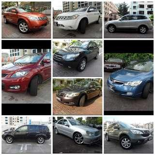 Wanted scrap or Export cars
