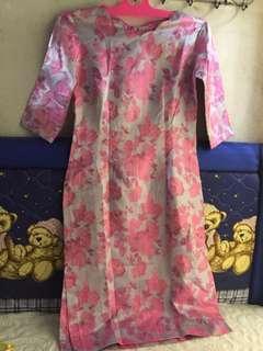 Dress Bunga Shanghai