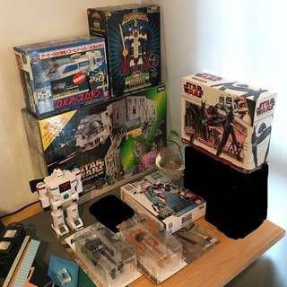 Lots of collectible toys for sale. Enquire for more info