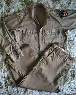 wwii utility uniform us airforce 40-50an