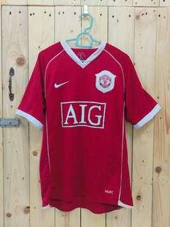 22e02a8f802 Combo Manchester United 2006 Home Away  prelovedwithlove