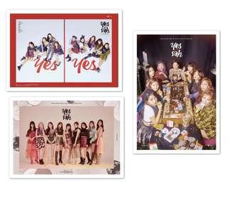 TWICE - Yes Or Yes Posters