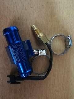 KOSO WATER TEMP SENSOR & ADAPTOR LC135 V1 V2 V3 V4 4S 5S Y15