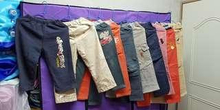 小朋友褲子10件