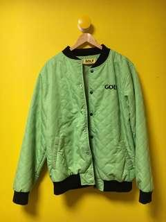 GOLF WANG FIND SOME TIME BOMBER LIME GREEN(XL)