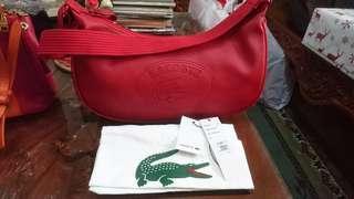 Original Lacoste Hobo Bag small