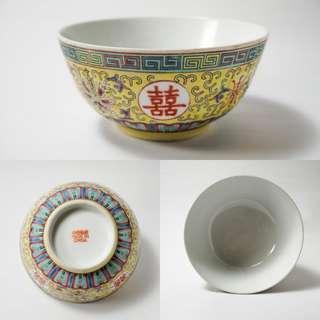 2pcs Vintage chinese antique famille rose porcelain bowl 中国古董手绘瓷碗x2个