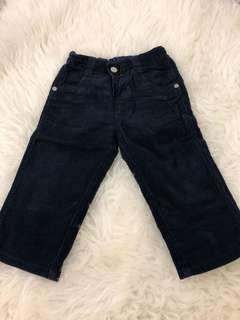 Mothercare navy pants 12-18m