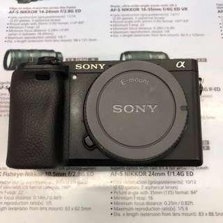 Sony a6300 (Body Only)