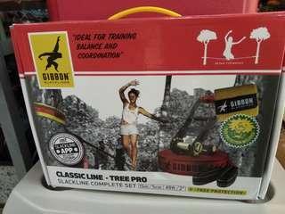 🚚 Gibbons Classic Slackline Tree Pro Set