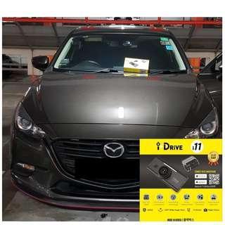 iDrive i11 Car Camera/Dashcam Installed On Mazda3!