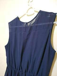 Uniqlo Dark Blue Dress size Large