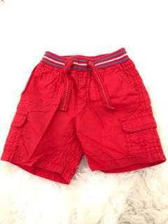 Mothercare Red Pants 0-3m