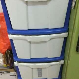 #XMAS50 4 Tier storage with drawer