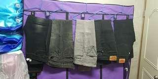 牛仔褲5件