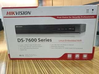 BNIB HKvision CCTV Network recorder and dome camera