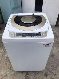 TOSHIBA washing machine 10 kg fully auto