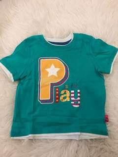 Mothercare green t-shirt 9-12m