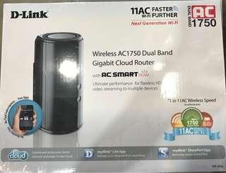 D link Ac 1750 Dual band router
